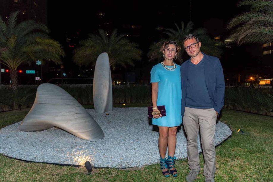Carolina Almeida e Tomas Piqueno.
