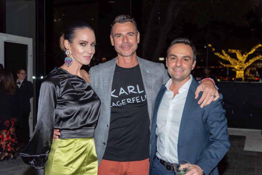 Katy Stoka, Dario Stoka e Lucio Grimaldi.