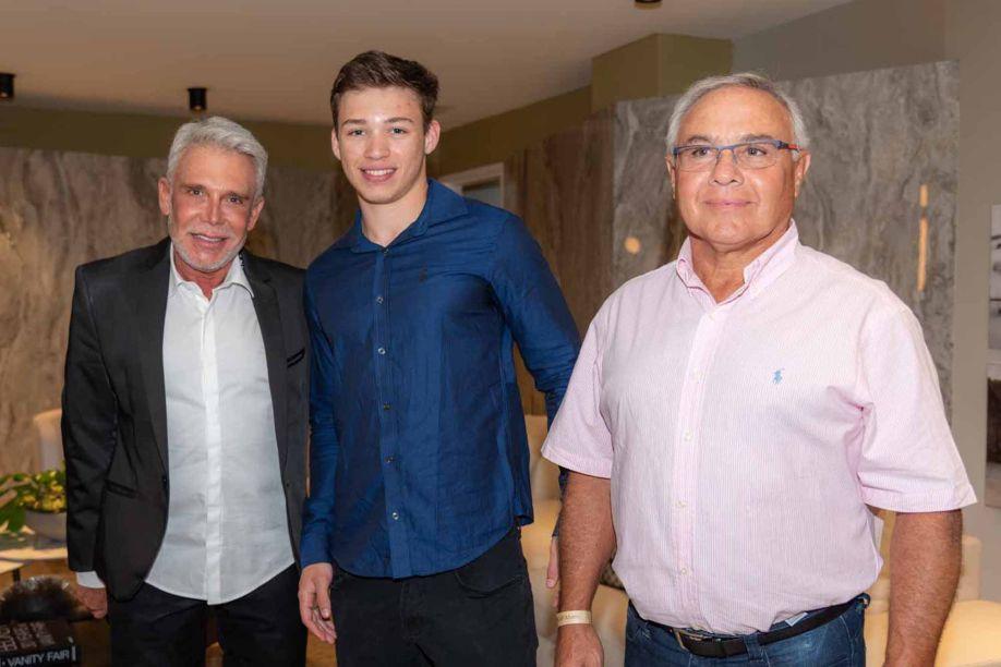 Leo Shetman, Claudio Souza Guedes e Adriano Largman Guedes.