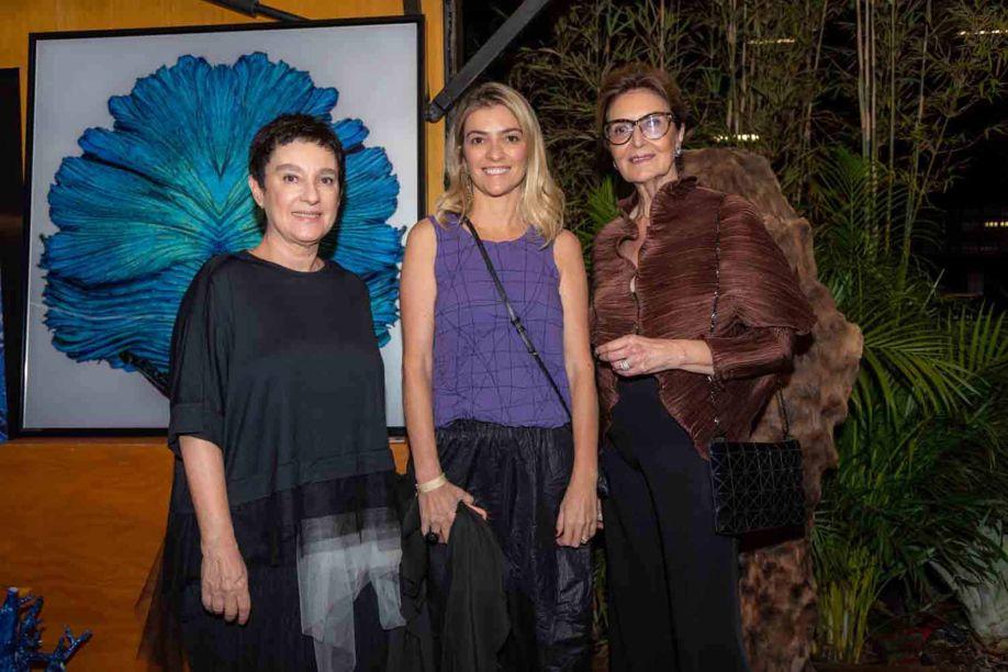 Livia Pedreira, Flavia Pardini e Cristina Ferraz.