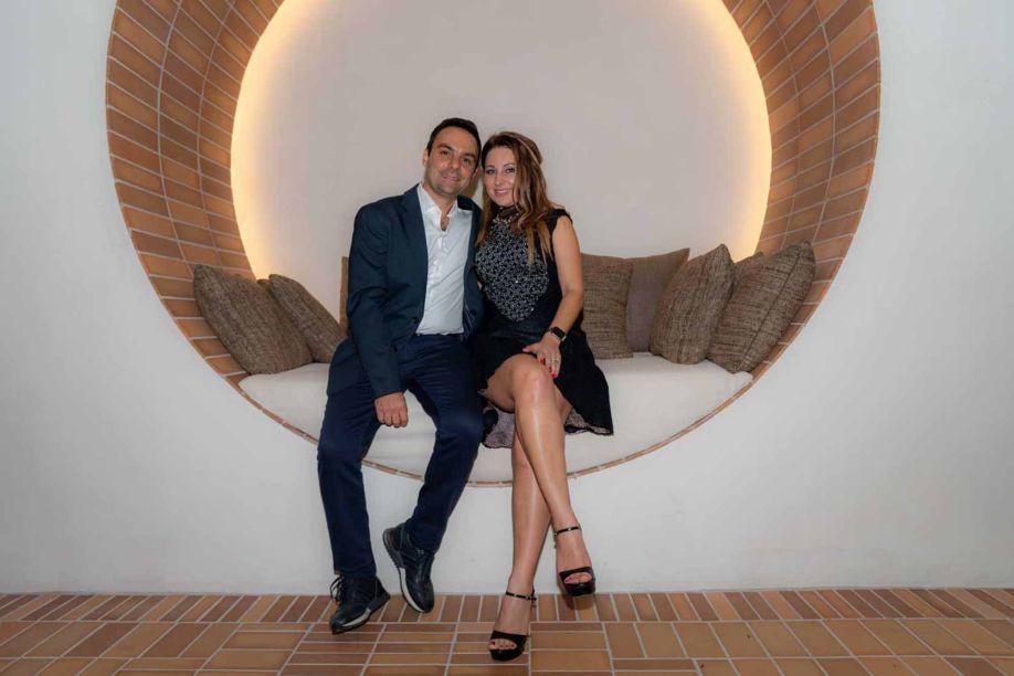 Lucio Grimaldi e Ana Grimaldi.