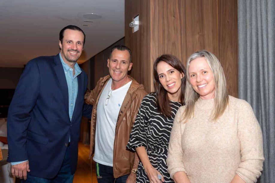 Marcelo Feres, Antonio Lucchesi, Patrícia Feres e Veridiana Lucchesi.