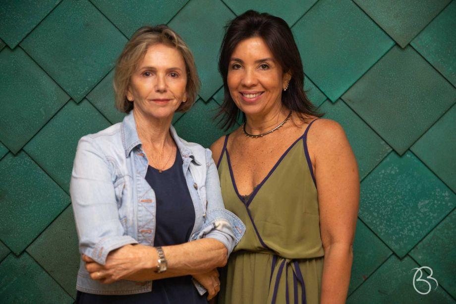 Sheila de Podestá e Eliane Martins.