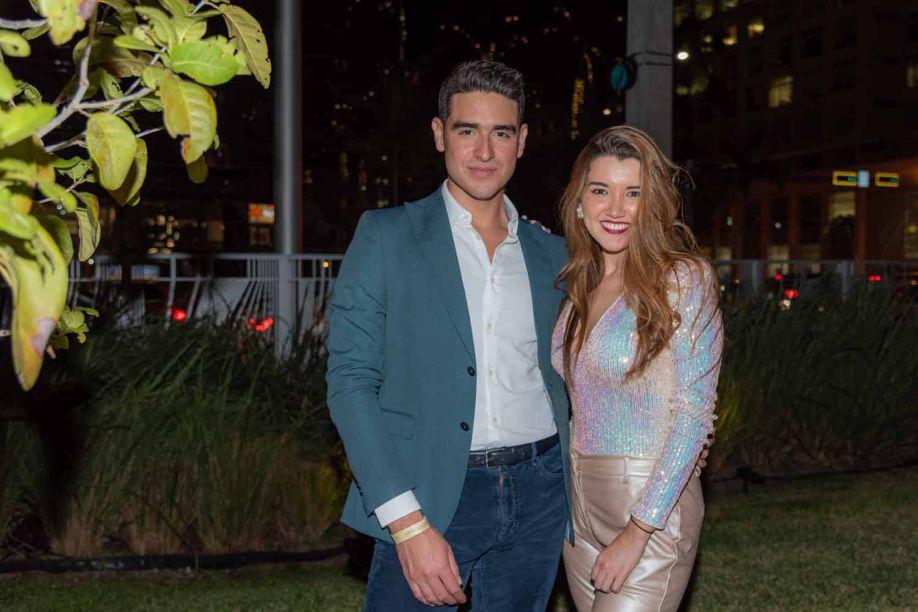 Valeria Espinoza e Victor García.