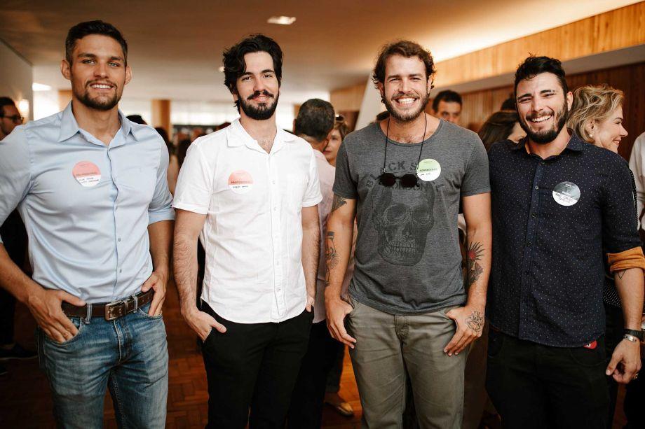 Ricardo Rangel, João Elias e João Carlos Corsino