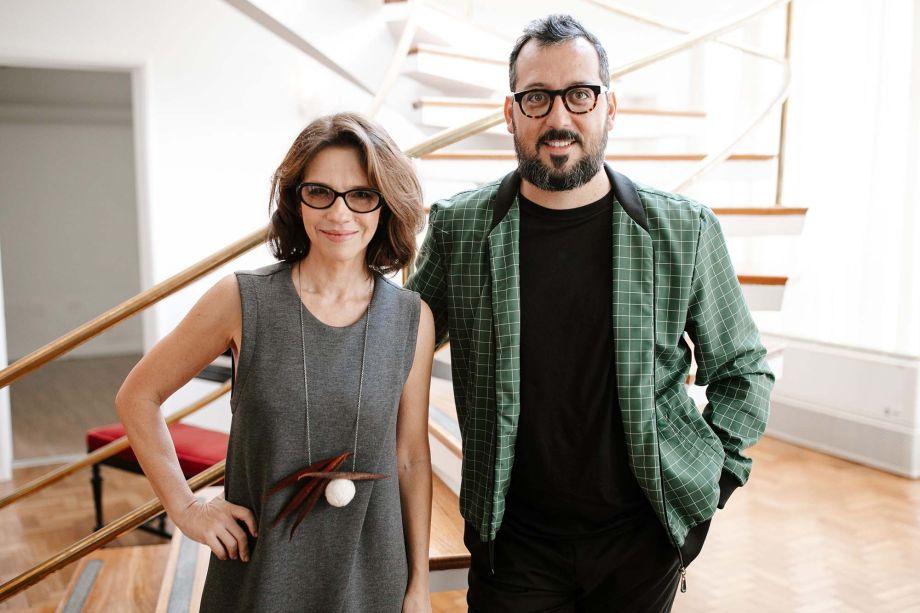 Juliana Grilo e Eduardo Faleiro