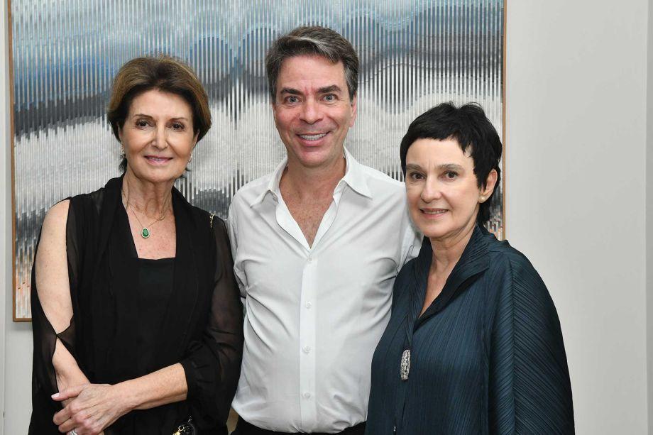 Cris Ferraz, Marcelo Felmanas e Livia Pedreira.