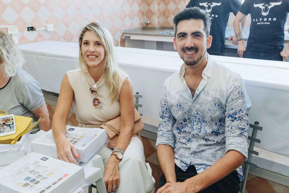 Renata Pisani e Luiz Maingué.