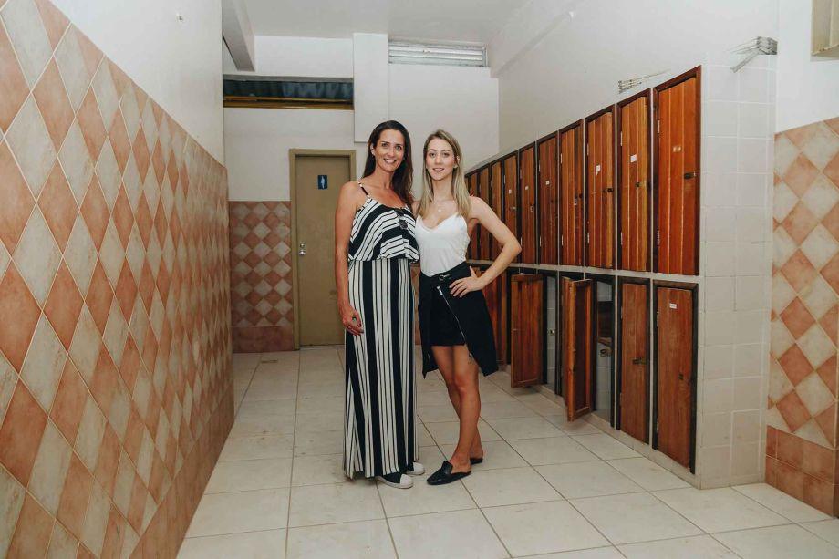Maristela Penkal e Julia Penkal.
