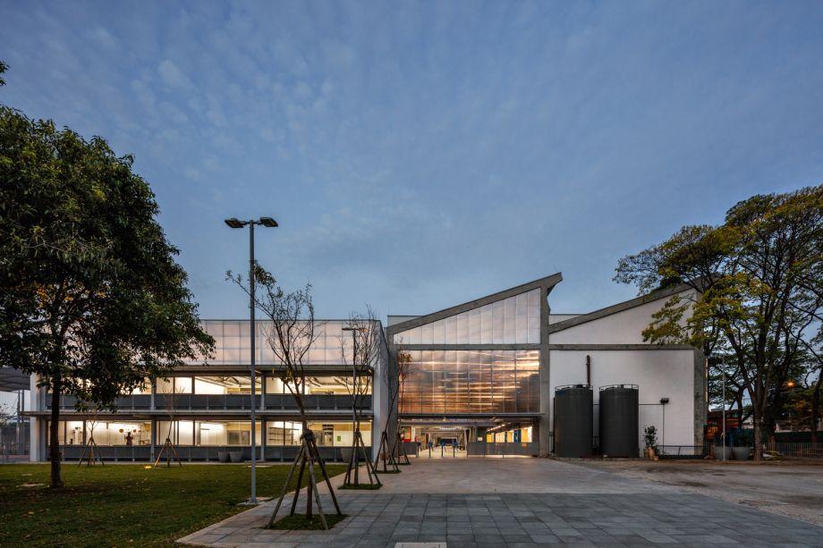 Beacon School, da parceria entre Andrade Morettin Arquitetos e GOAA (Gusmão Otero Arquitetos Associados).