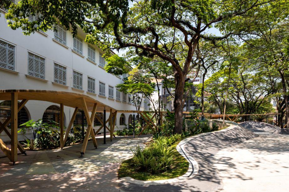 Escola Concept, da Triptyque Architecture.