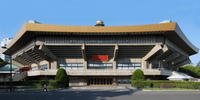 Também dos anos 60, o Nippon Budokan será sede das competições de judô. A arquitetura característica de Mamoru Tamada se destaca pela forma ortagonal que referencia os templos japoneses.
