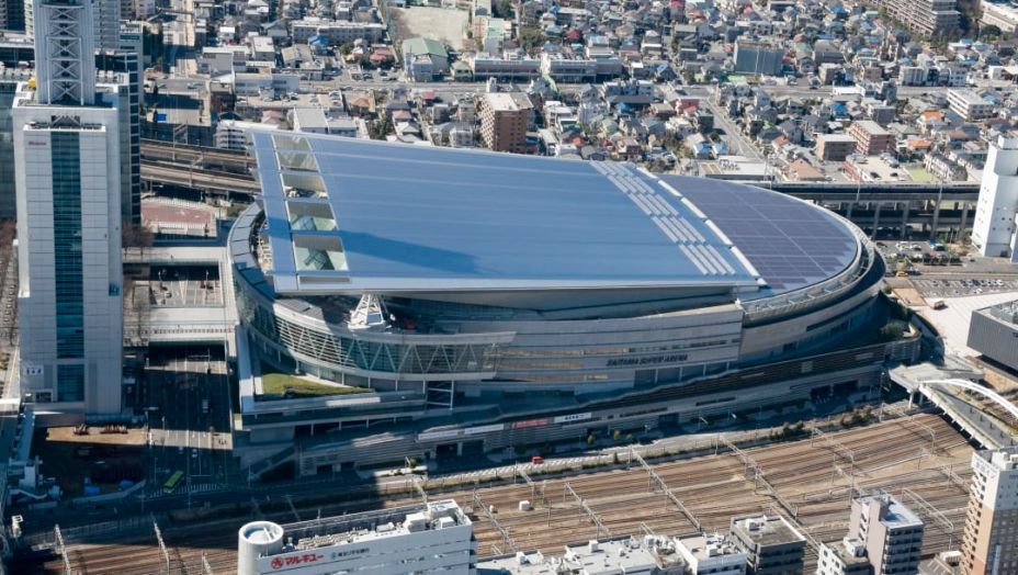 No província de Saitama, enclave que faz parte da cidade de Tóquio, a Super Arena de Saitama é uma das maiores instalações do Japão, com capacidade para 21 mil torcedores. Nas Olimpíadas, irá abrigar as competições de basquete.