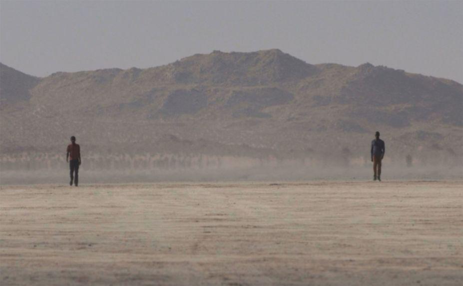 BILL VIOLA,<em>Walking on the Edge (I)</em>, 2012 Galeria James Cohan.