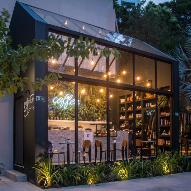 TRPC Arquitetos - Cafeteria Coffeetown.