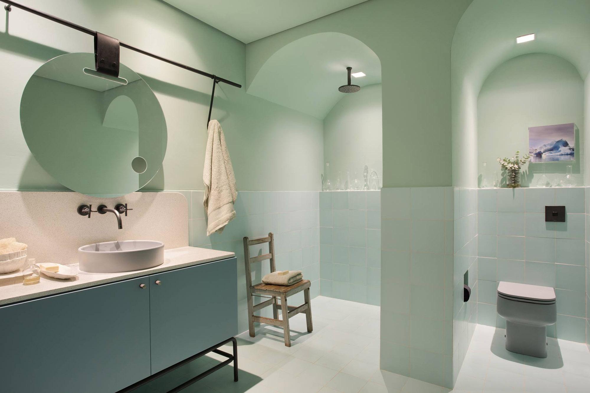 casa dos arcos banheiro colorido casacor