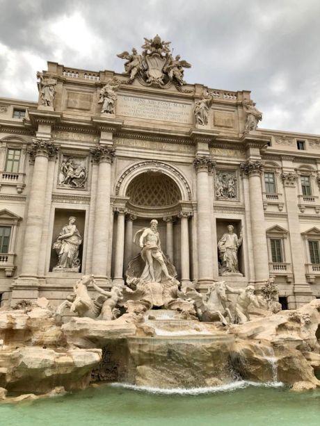 Fontana di Trevi de Nicola Salvi - Roma.