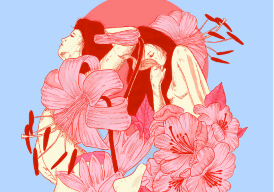 Sabrina Gevaerd - s/titulo, 2019. Artista e ilustradora brasileira, residente em Londres, Sabrina Gevaerd trabalha na fronteira entre vida e magia. Elementos que vão de feições femininas a animais fazem parte do repertório da jovem artista.