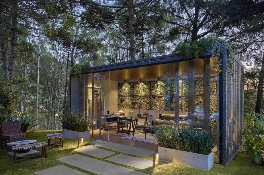 CASACOR Minas Gerais 2019 - Escritório do Jardim por <span>Marina Diniz e Paula Guimarães</span>