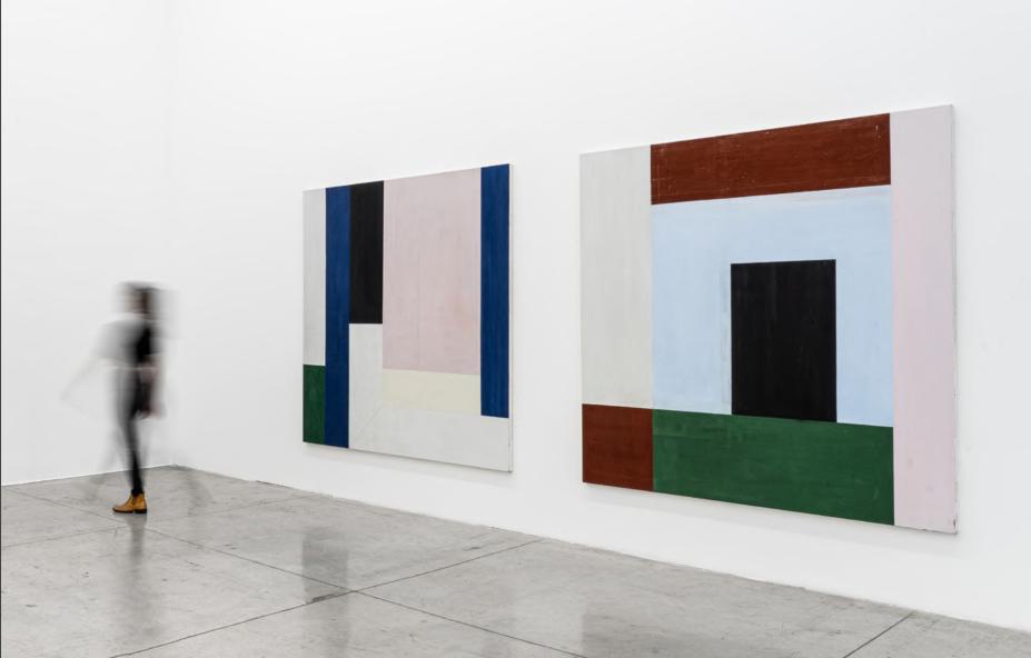 Fabio Miguez - sem título, série Volpi- Galeria Nara Roesler.