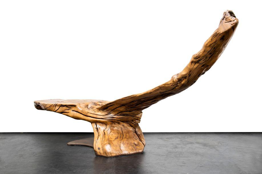 """Hugo França - escultura """"Manaitê""""- Estúdio Hugo França."""