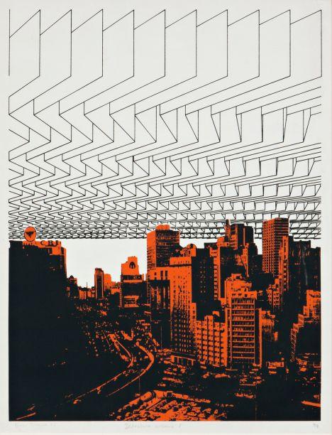 Destrutura Urbana (1976) - Regina Silveira