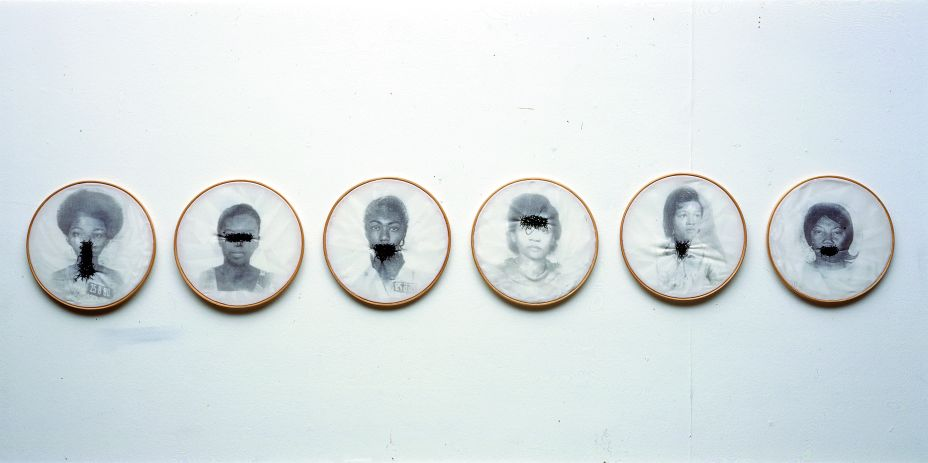 Sem Título (1997) - Rosana Paulino