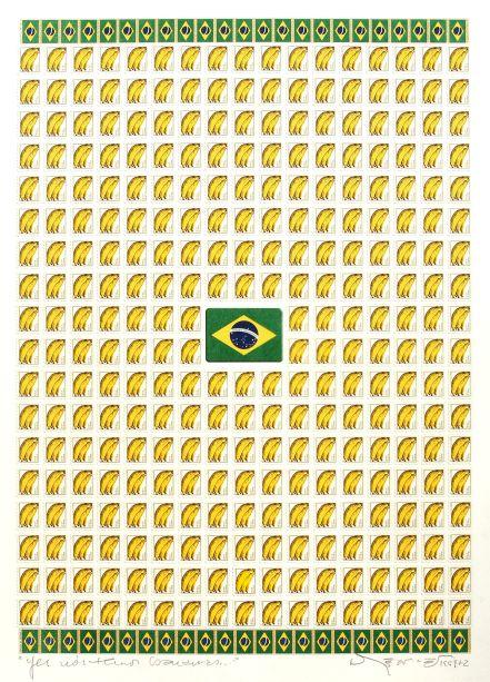 Yes nós Temos Bananas (2001) - Nelson Leirner