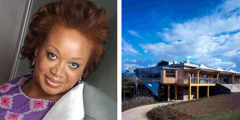 <strong>Annette Fisher.</strong>A britânica Annette Fisher foi criada na Nigéria e formou-se na Universidade de Strathclyde, em Glasgow, Escócia em 1983. Com mais de três décadas de exercício da arquitetura, Fisher possui uma longa lista de projetos em diversos países, assinados pelo seu escritório, Fisher Associates (FA-Global), sediado em Chelsea. Ela foi a primeira mulher negra eleita como membro do Conselho RIBA (Instituto Real Britânico dos Arquitetos), em 1999, chegando a atuar como vice-presidente entre 2001 e 2001. Na foto, Annette Fisher e projeto de seu escritório, FA-Global.