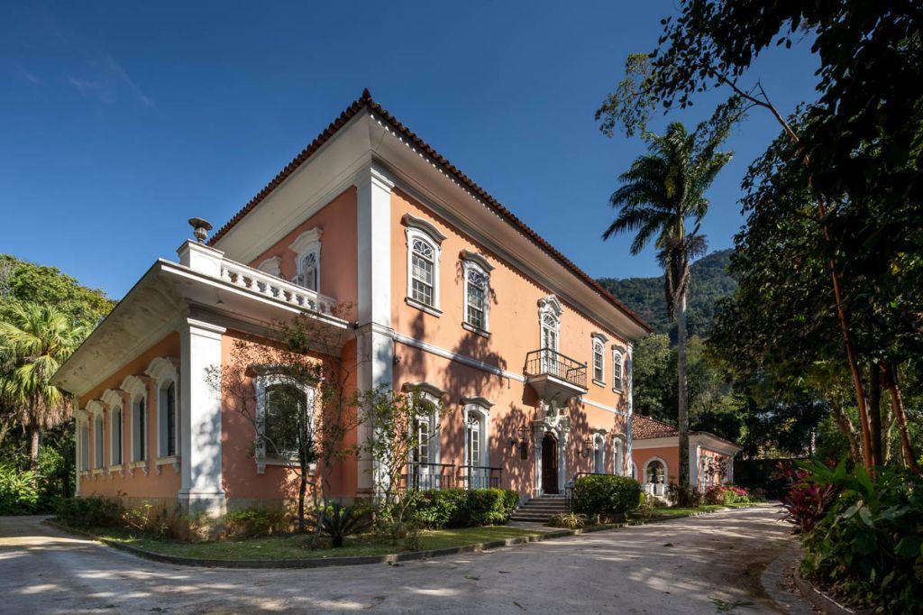 O Palacete Brando Barbosa, onde acontece a CASACOR Rio de Janeiro 2021, entre 19 de janeiro e 7 de março.