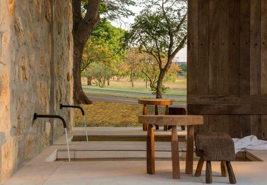 Pausa..., por Angela Castilho Arquitetura para o Janelas CASACOR Brasília.