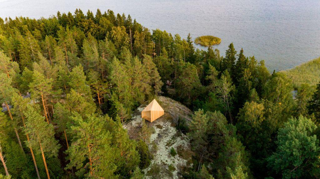 casa modular construção sustentável cabana