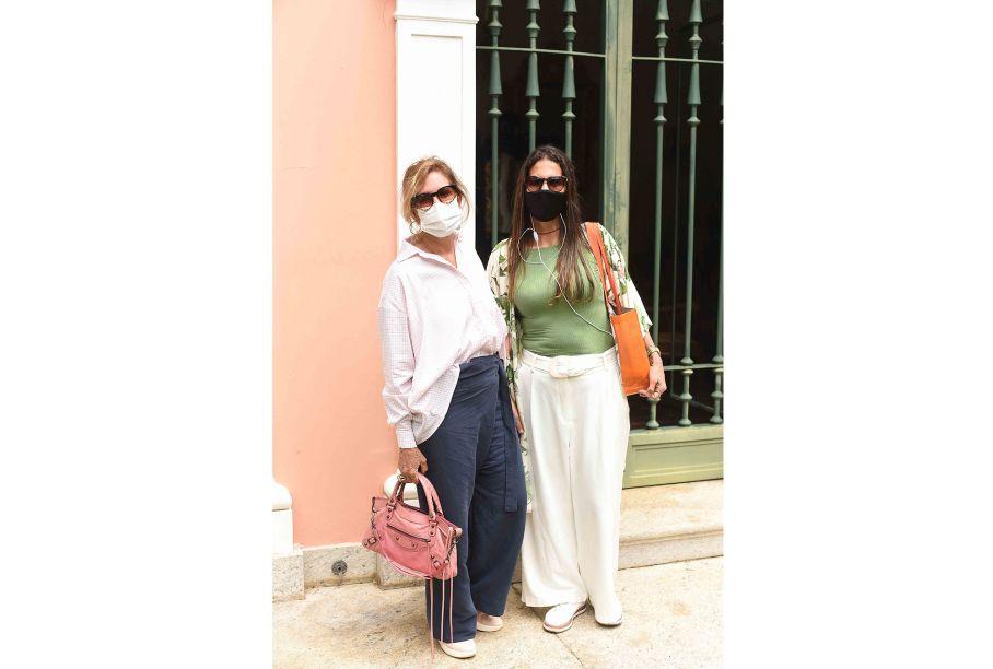 Cynthia Pedrosa e Cristiane Carvalho.