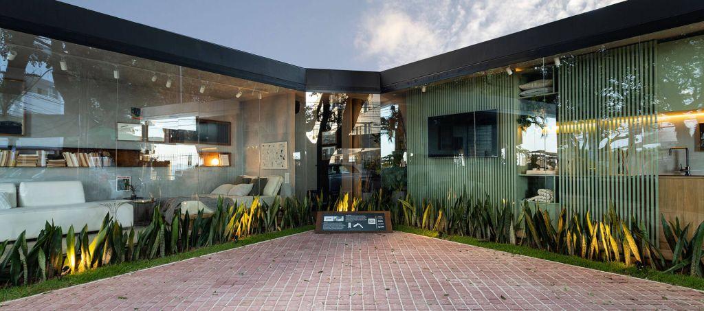 ambiente do GAM Arquitetos para o Janelas CASACOR Bahia