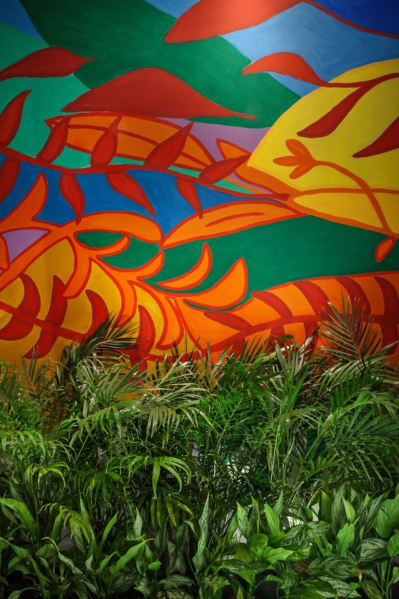 O colorido e o paisagismo do ambiente da Mutabile Arquitetura para o Janelas CASACOR Minas Gerais