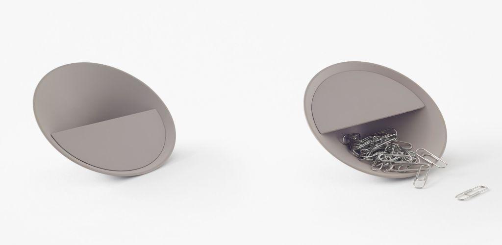 vasilha em formato de cone por Nendo Design