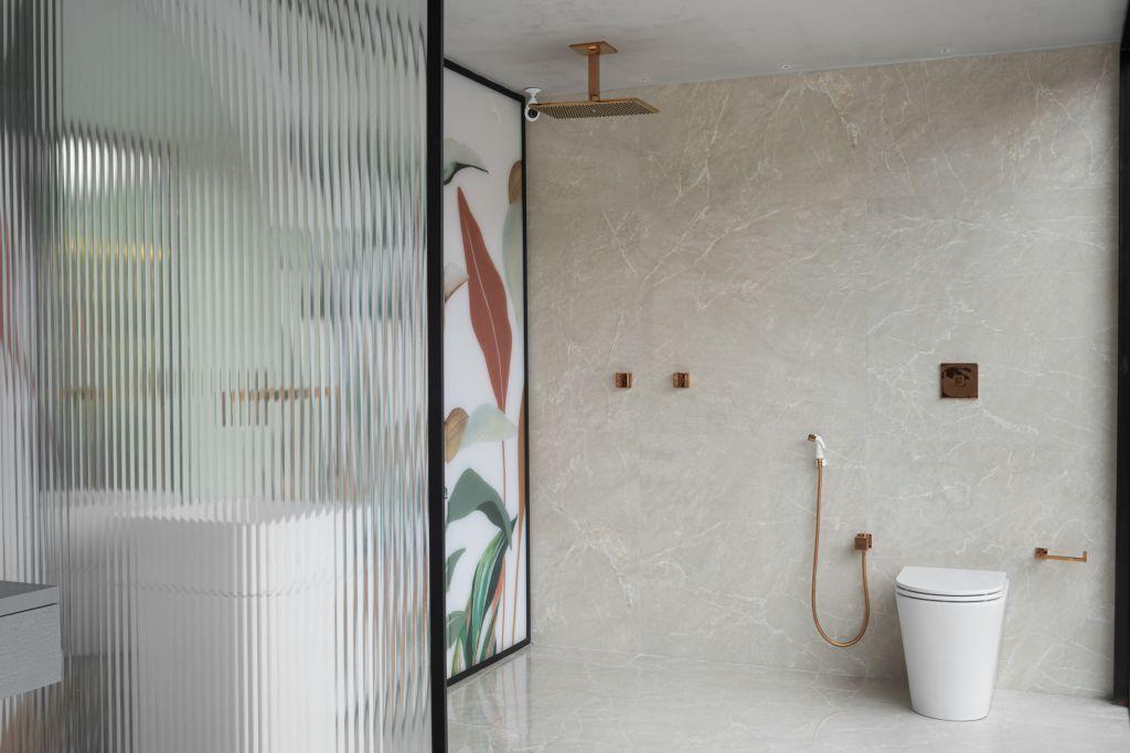 Sala de Banho do ambiente de Renata Tristão para o Janelas CASACOR Espírito Santo