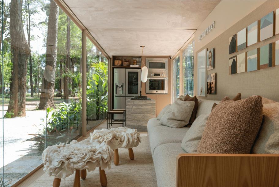 Suite Arquitetos - Casa Conectada LG, no Janelas CASACOR São Paulo