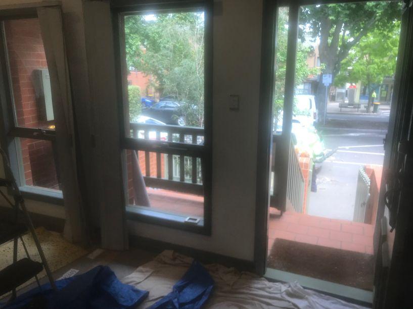 Entrada/Sala de Jantar da casa Antes