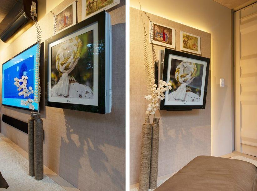 LG Multi Artcool Gallery. O Artcool Gallery sequer parece um ar condicionado. Na parede como um quadro, ele fornece um fluxo de ar em 3D, tanto quente quanto frio e ainda é possível personalizar a peça trocando as imagens na moldura.