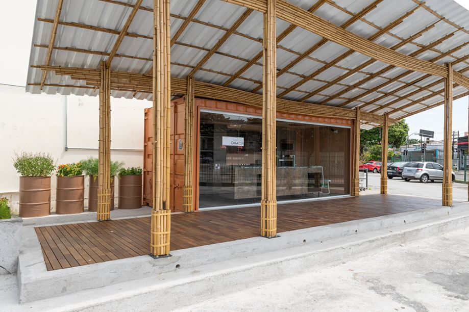 Cozinha Comunitária Alimentação Saudável Sacolão Freguesia do Ó - Fau+D Mackenzie Acolhe e Rodrigo Mindlin Loeb