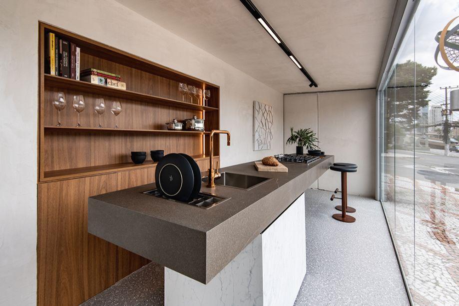 Cucina Essenziale, por Gabriel de Lucca