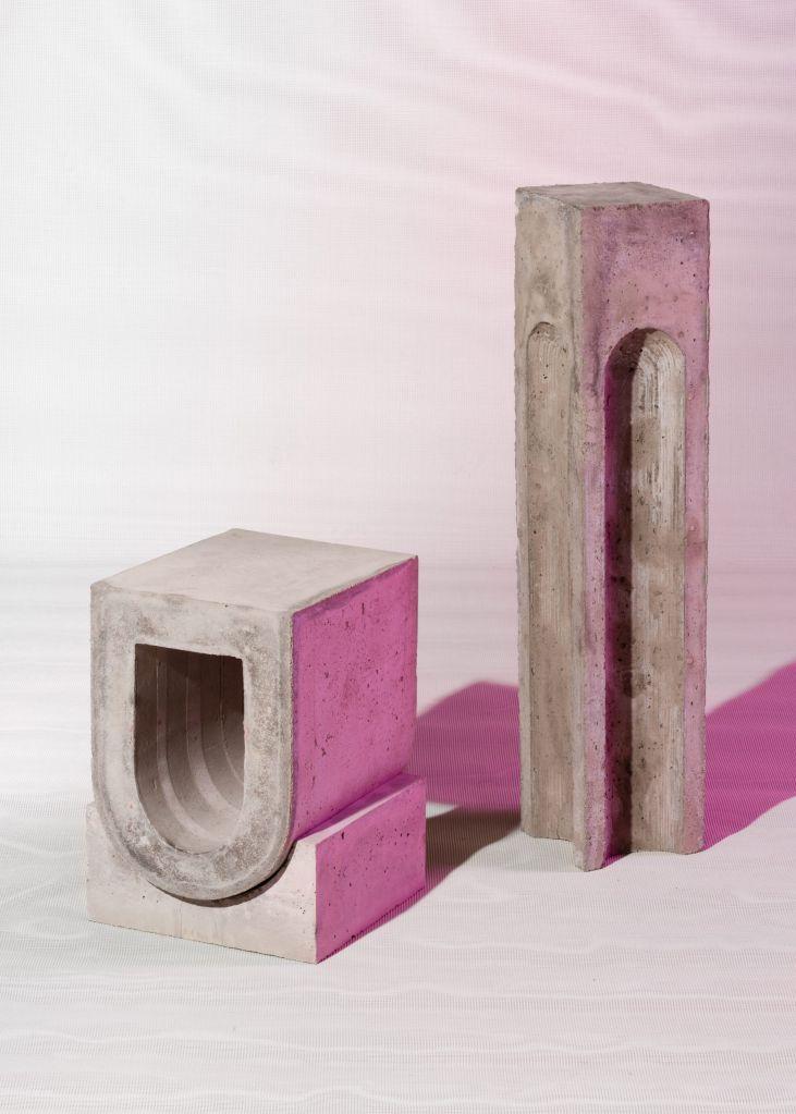 Os pedestais de Kajsa Willner prestam homenagem aos designs romanos