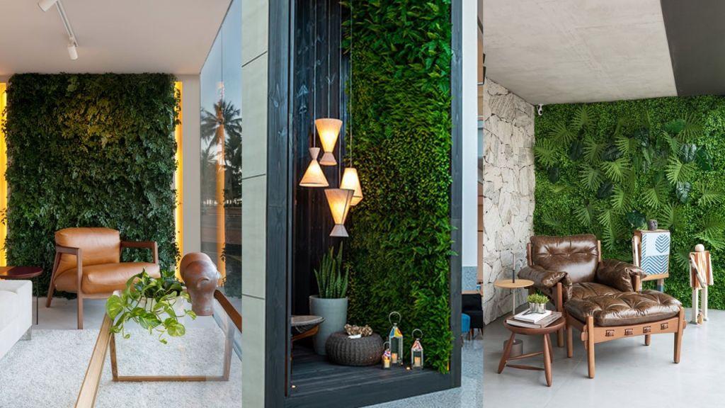 Três jardins verticais do Janelas CASACOR