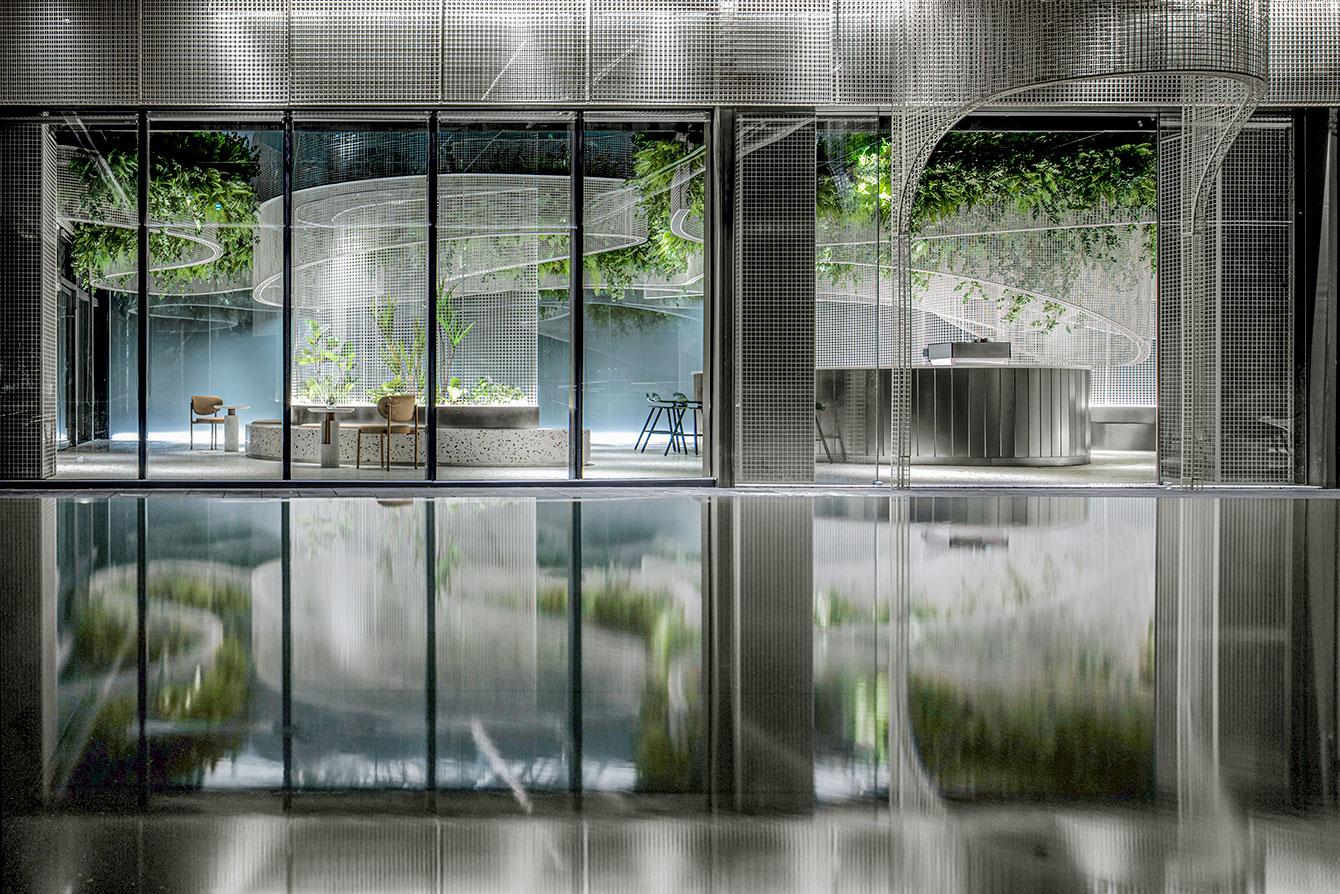 A Karv One Design, empresa sediada em Hong Kong, criou uma atmosfera de sonho no Vista Café, recentemente inaugurado em Fujian, China.