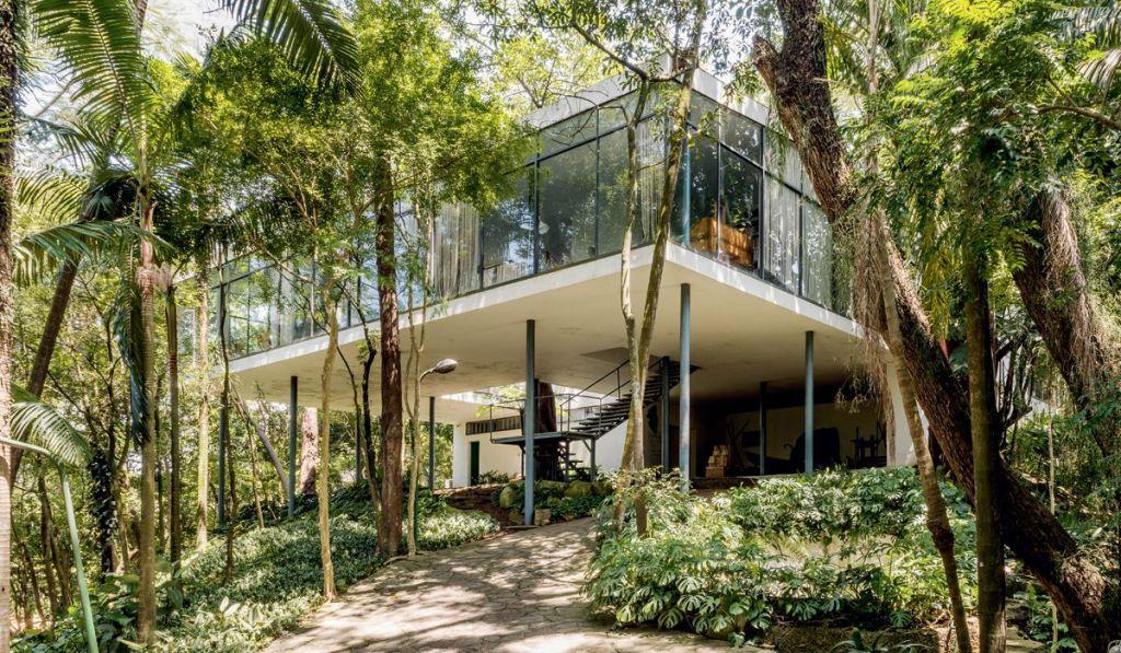 casa de vidro arquitetura lina bo bardi são paulo prédio icônico