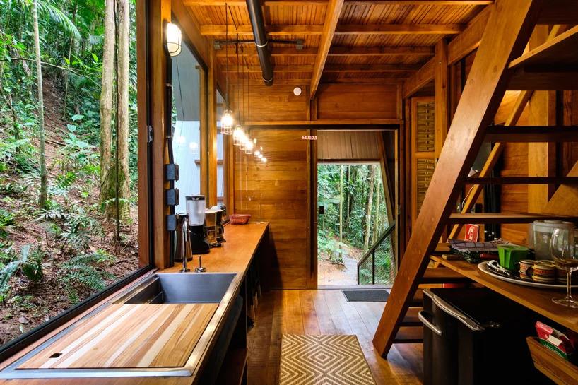 Cozinha da Casa dos Macacos em Paraty