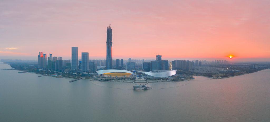 Visão ampliada do Suzhou Bay Cultural Center