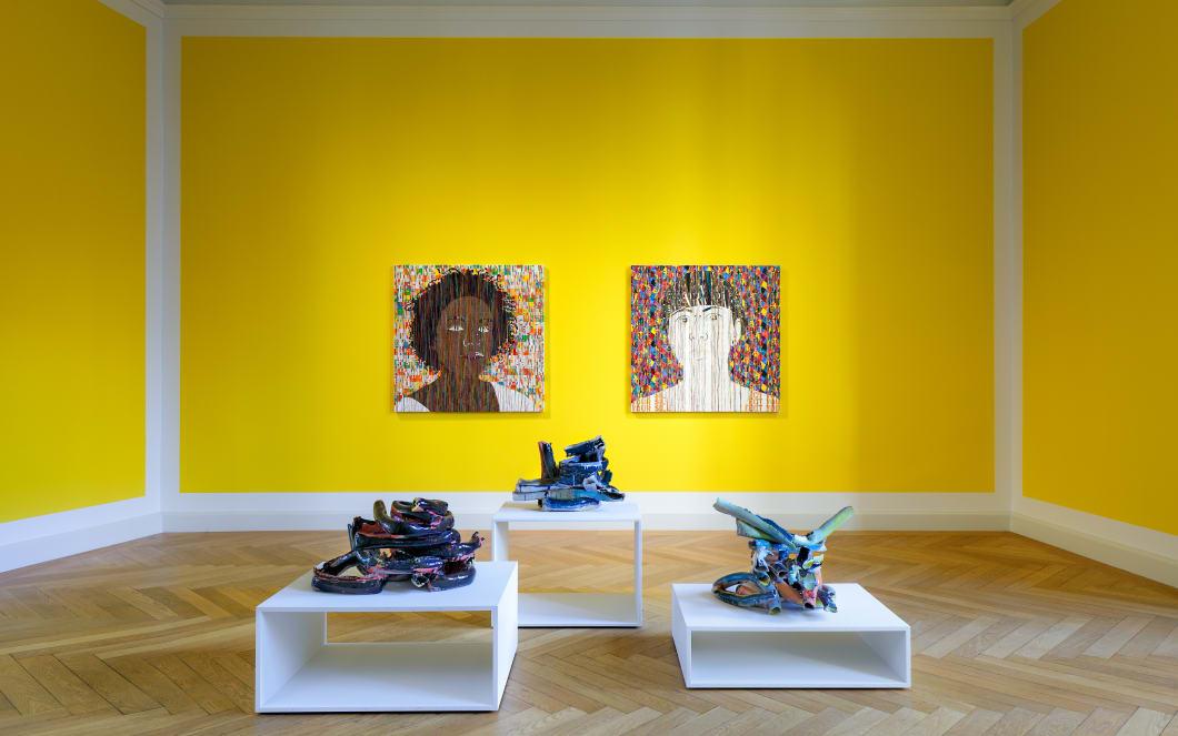 exposição de Ghada Amer em Berlin