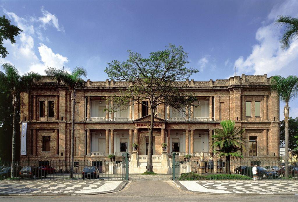 arquitetura prédio icônico são paulo pinacoteca centro